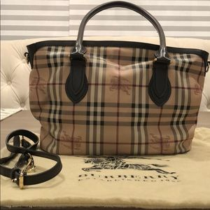 Burberry used bag